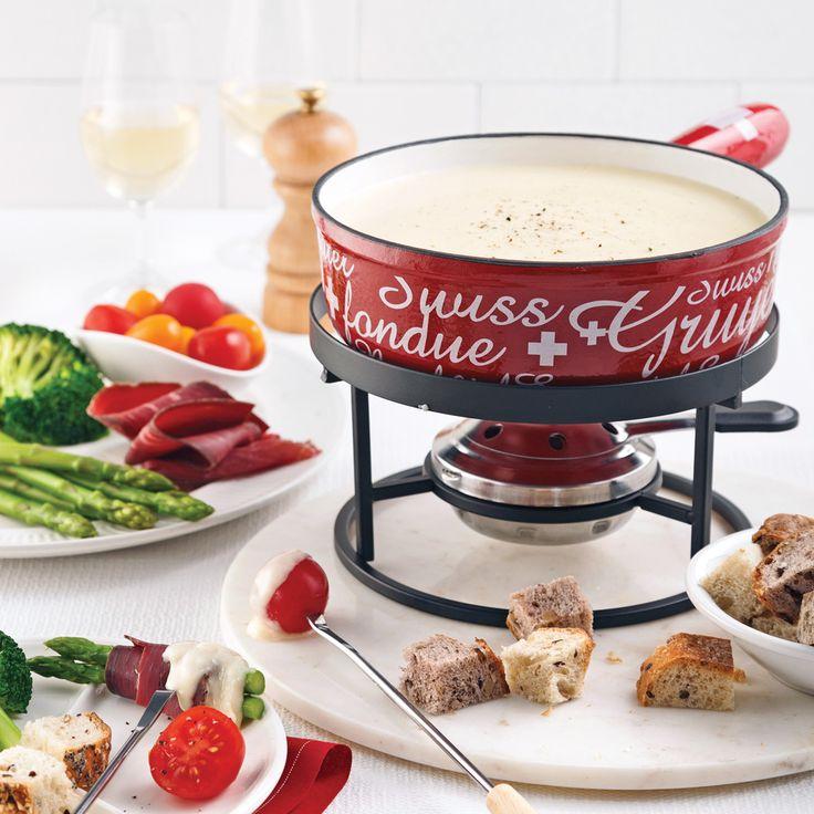 Résister à cette fondue suisse maison? Impossible!