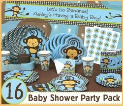 Baby shower monkey theme guide | Baby Shower Decoration Ideas