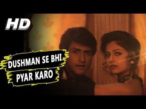 Dushman Se Bhi Pyar Karo | Sonu Nigam Alka Yagnik| Dand Nayak 1998 Songs | Ayesha Jhulka