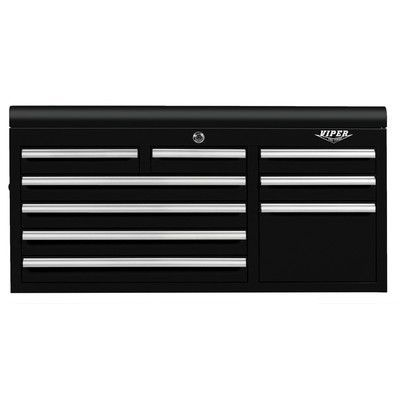 """Viper Tool Storage 41""""W 9-Drawer Top Chest Color: Black"""