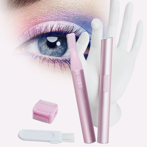 2016 100% Portátil de Alta Calidad Bikini Line Face Lady Body Hair Trimmer máquina de Afeitar Eléctrica de la Ceja de Afeitar