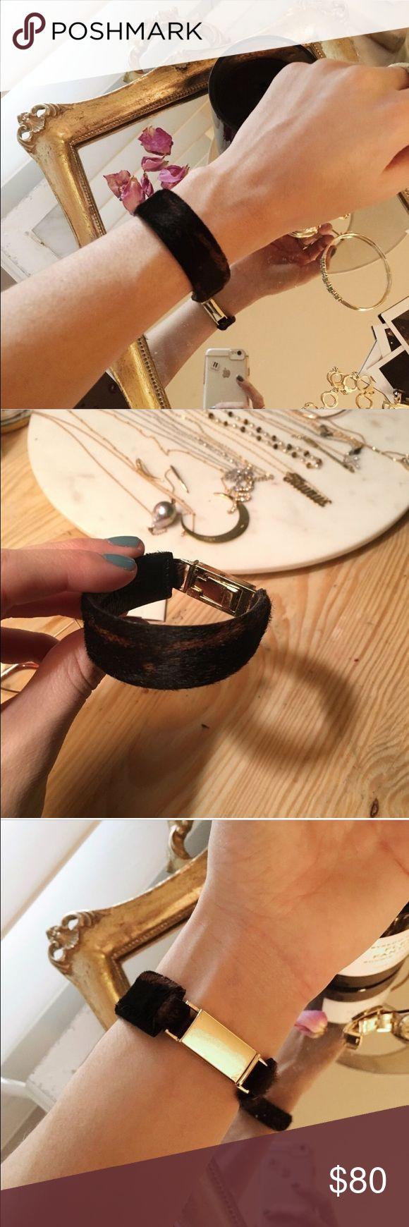 Isabel Marant fur bracelet Worn a few times, great used condition. Isabel Marant Jewelry Bracelets