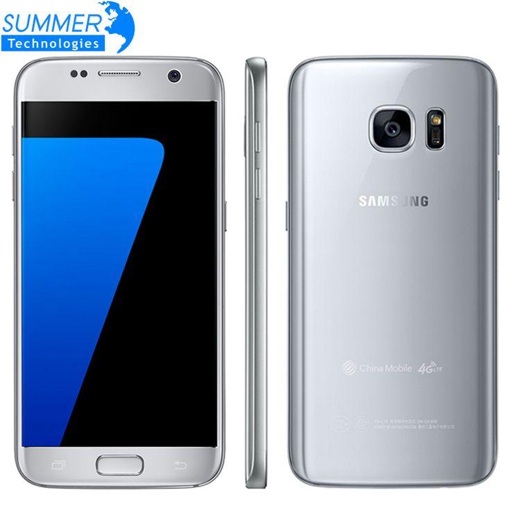 Original Samsung Galaxy S7 G930F Mobile Phone Quad Core 4GB RAM 32GB ROM Waterproof 4G LTE 5.1 Inch NFC GPS 12MP Smartphone