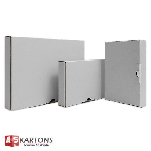 Maxibrief-Kartons Karton weiß 350x250x50 DIN A4 STÜCKZAHL WÄHLBAR stabil!TOP!!!