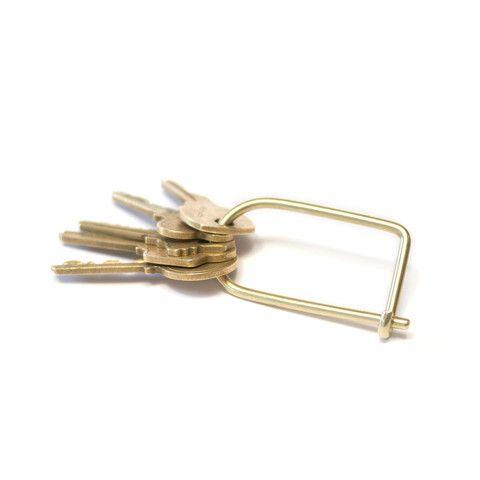 Wilson Keyring - Brass