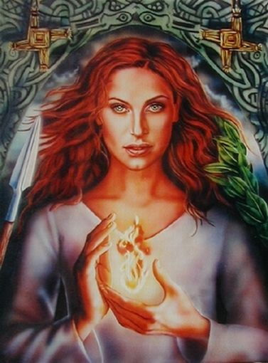 Brigid - goddess of change, of creativity, of life and rebirth - Imbolc and the Sacred Feminine See more at: http://www.cycleharmony.com/stories/red-tent/imbolc-and-the-sacred-feminine#sthash.76eT7OOQ.dpuf
