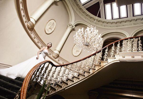Staircase Entrance, Butleigh Wooton Mansion, Melbourne