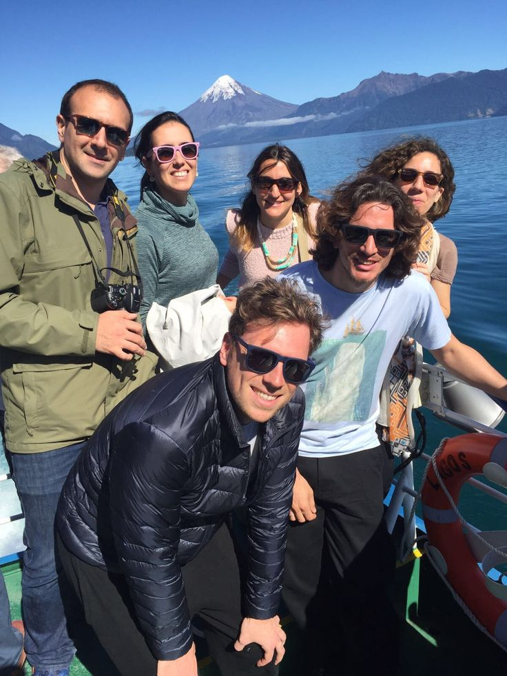 George Papadimitriou, one of our #passengers, and his #friends from Greece and Italy enjoying the best #experience in #Patagonia. Here they shared part of their #trip in the Andean crossing with #navigation from Puerto Varas to #Bariloche. #Argentina #landscape #mountain #nature