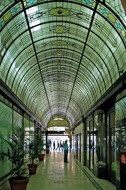 Cathedral Arcade.  Melbourne, Victoria Australia. City
