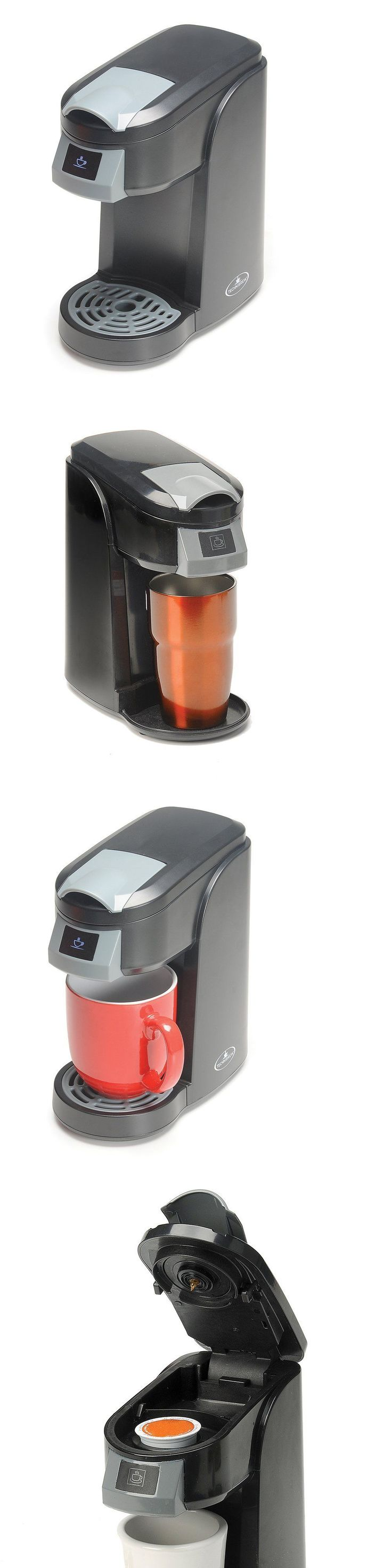 Single Serve Brewers 156775: New Technibrew Single Cup Coffee Maker, Free 3 Day Shipping -> BUY IT NOW ONLY: $49.99 on eBay!