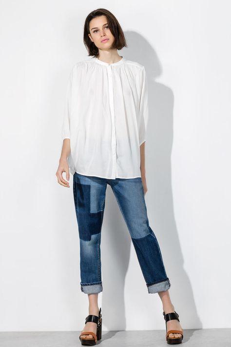 nice Женские джинсы 2016 года — Модные тенденции, фасоны и сочетания (50 фото)