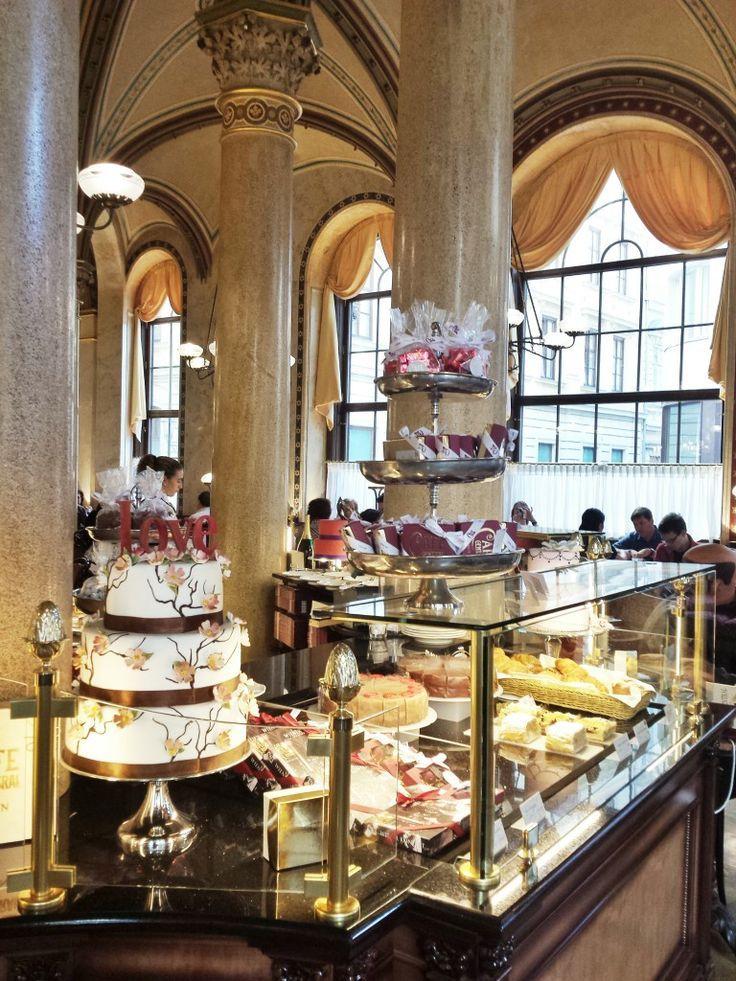 cafe central - Vienna - worth a visit