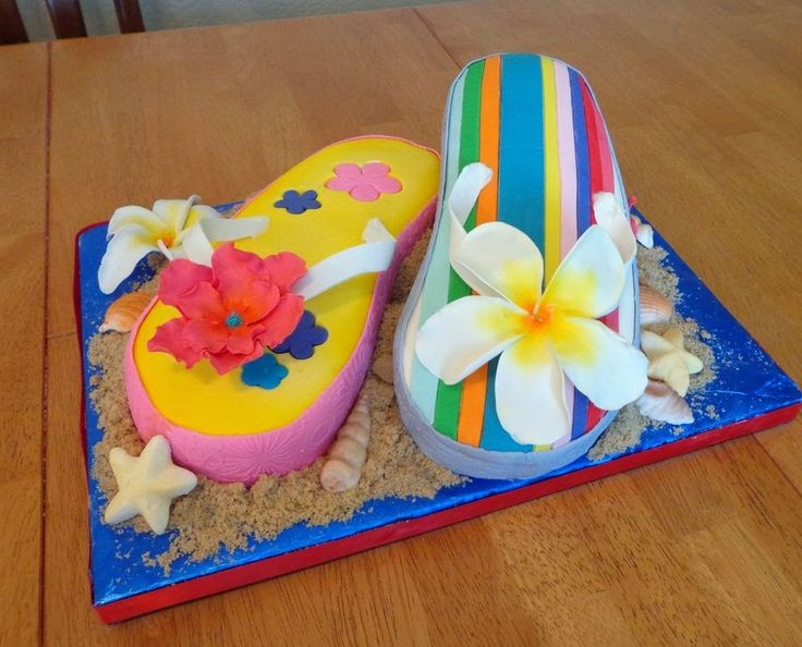 Ideas & Products: Flip Flop Cakes