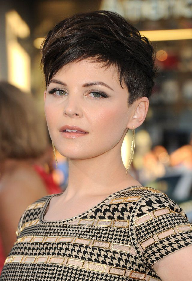 I wish I was allowed to cut my hair like this. And pay someone to style it for me every single day. (Ginnifer Goodwin)