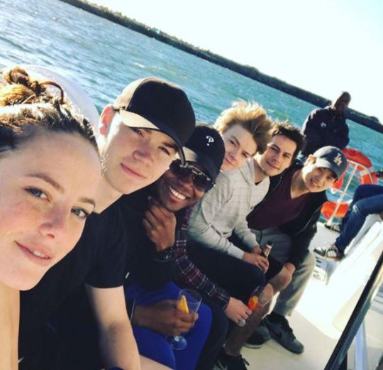 Maze Runner cast - Bye, bye 2017