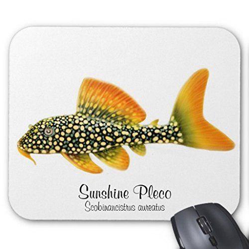 ゴールドエッジ・マグナム・プレコのマウスパッド:フォトパッド(世界の海水魚シリーズ) [並行輸入品] 熱帯スタジオ…