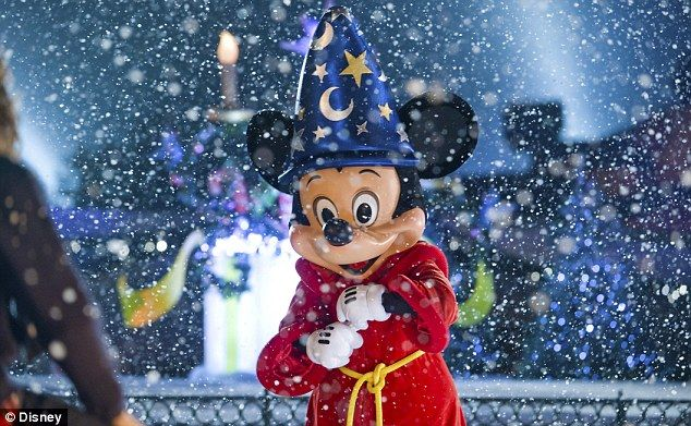 Mickey magic: Wide eyes and huge smiles on a festive break to Disneyland Paris
