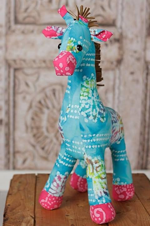 Giraffe Plush Toy Pattern PDF INSTANT by FunkyFriendsFactory