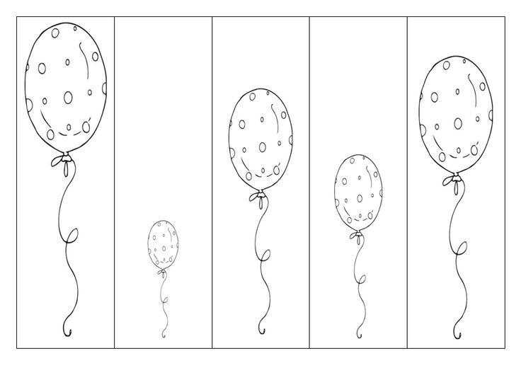 Ballonnen - Van hoog naar laag