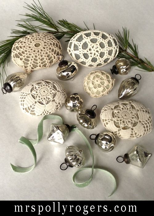 Click here to DIY Last Minute Holiday Decorating Ideas.  Blog & Video to make Rock Cozies from MrsPollyRogers.com