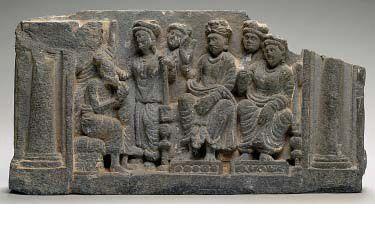 QUEEN MAYA'S DREAM IS EXPLAINED Gandhara