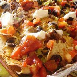 Super nachos au boeuf @ qc.allrecipes.ca