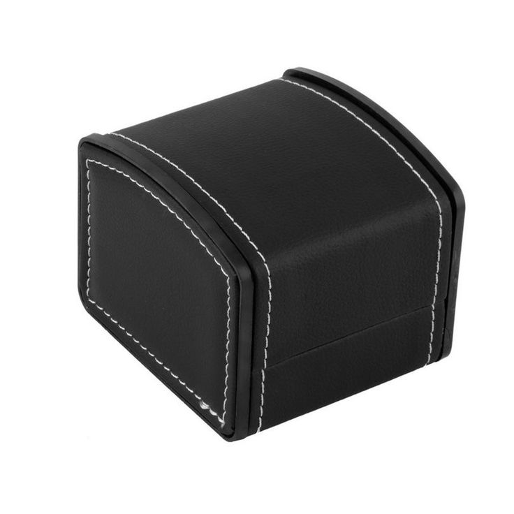 Hot Sale High Quality Leather Watch Box with Pillow Watch Packaging For Bangle Earring Wrist Watch Box #Affiliate