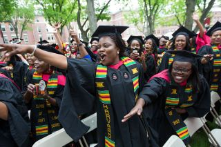 Harvard Students Get Litty at First Black Graduation Ceremony