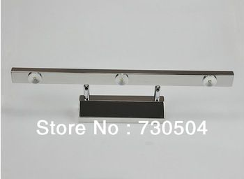 3 head 3w led mirror light modern brief stainless steel bathroom light microscopy cabinet lamp