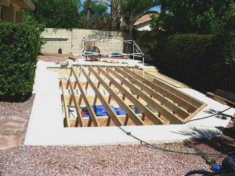 Spa Pool: Filling Spa Pool