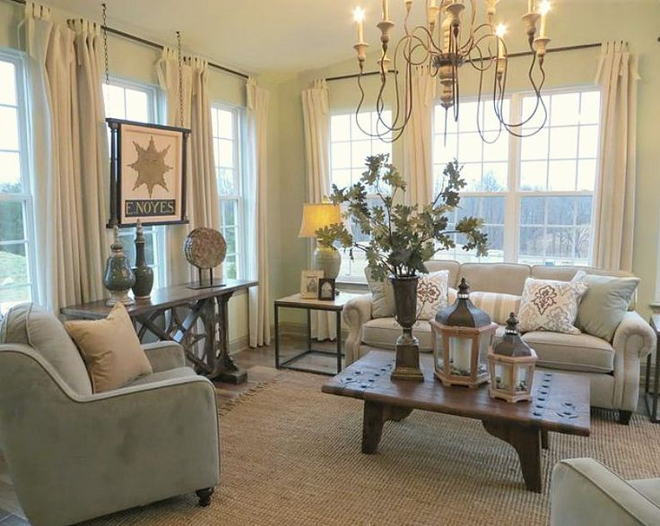 Love The Drapes In This Pretty Room By HHG Builder Services
