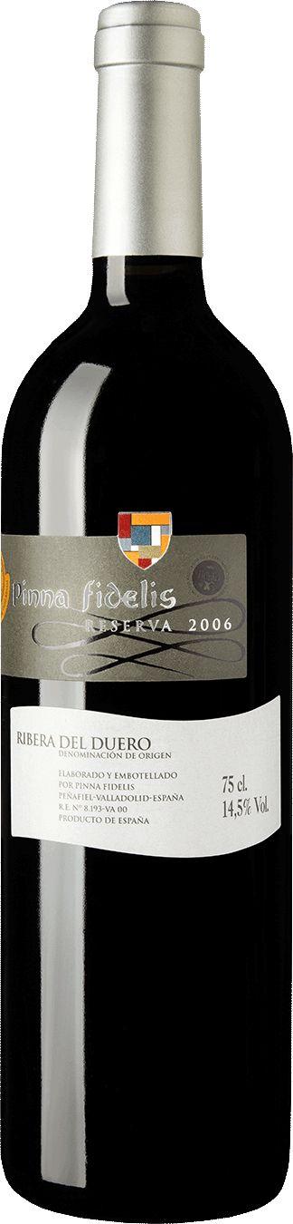 Pinna Fidelis 2006 Tempranillo Reserva   Wine Store   Gold Medal Wine Club