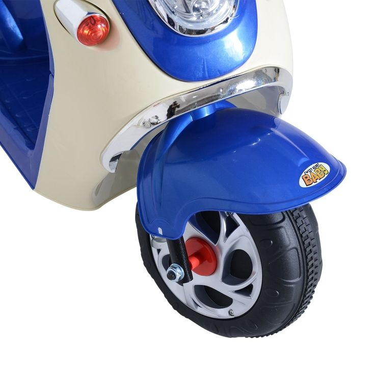 Aosom 6V Kids Ride On Electric Moped Scooter -