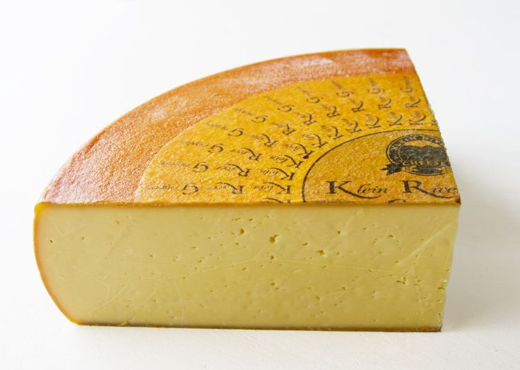 A wedge of Klein River Cheese