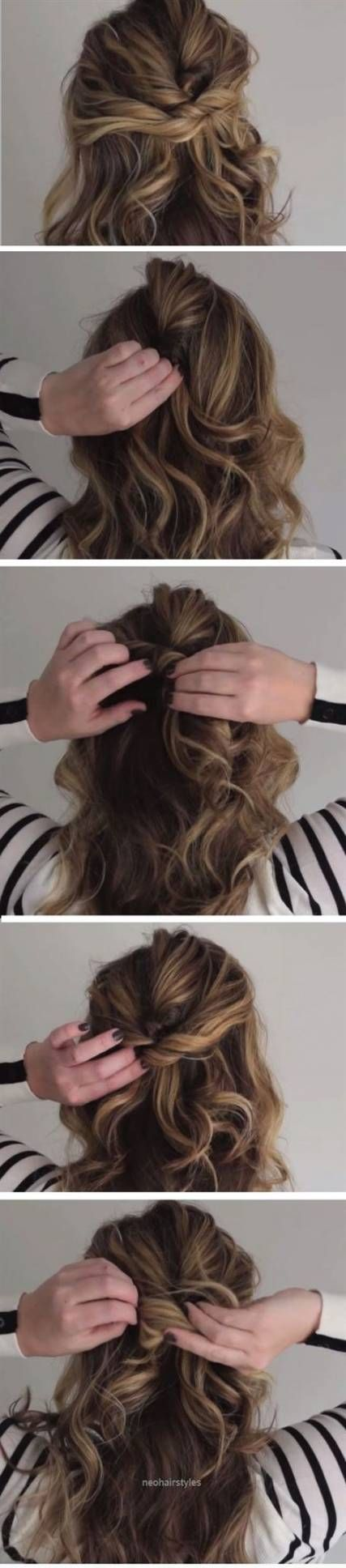 38+ Beste Ideen für Frisuren Easy Diy Half Up