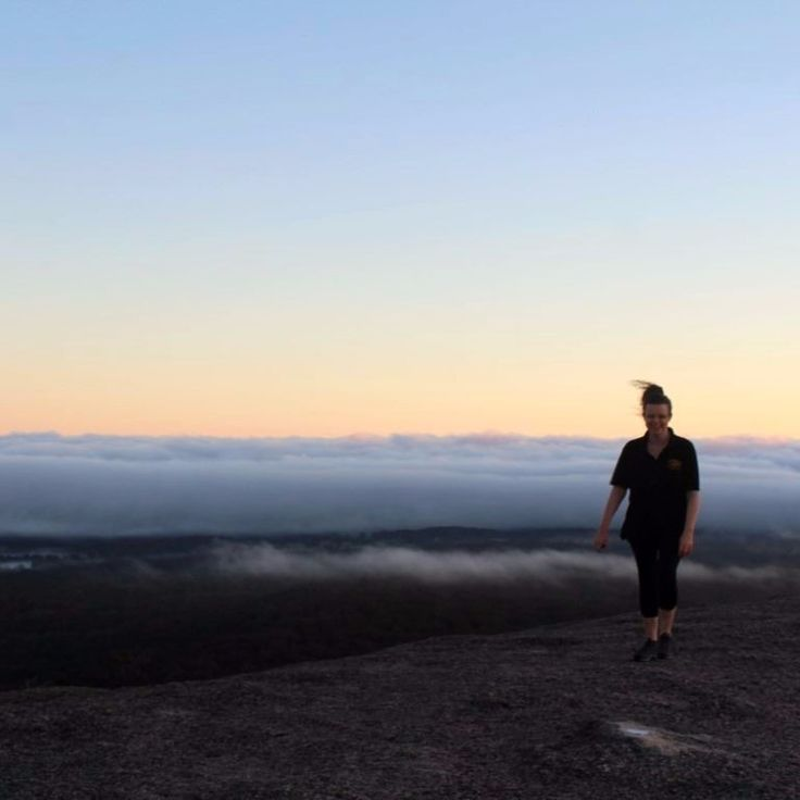 At 4.30am it felt like a pretty stupid idea.  But being on top of Bald Rock for sunrise was well and truly worth it.