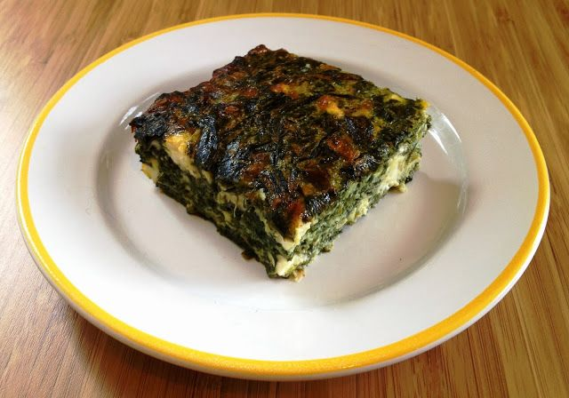 Spanakopita without filo