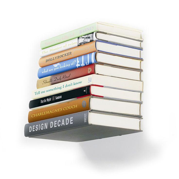 Osynlig bokhylla
