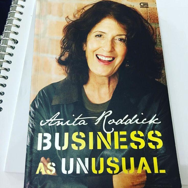 3 Hal yang bisa dipelajari dari Anita Roddick Pendiri The Body Shop: 1-Saya 100% pebisnis dan 100% aktivis 2-Anak saya tidak mendapatkan satu sen pun warisan dari saya. Semuanya saya sumbangkan ke yayasan 3-Setiap pengusaha adalah pencerita yang hebat  #DigipreneurID #EntrepreneurAcademy #AyoBacaProject #TagsForLikesApp #instagood #me #smile #follow #cute #photooftheday #tbt #followme #girl #beautiful #happy #picoftheday #instadaily #food #swag #amazing #TFLers #fashion #igers #fun #summer…