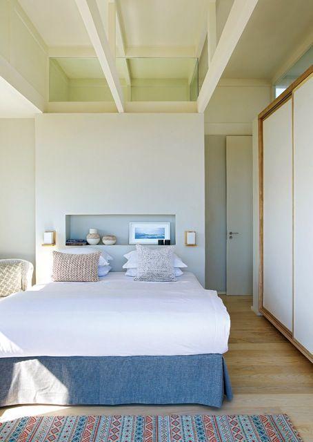 Beach house bedroom, South Africa, Beattyvermeiren architects