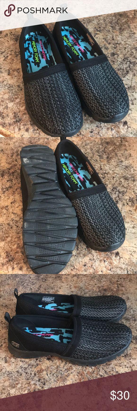 Skechers AirCooled slip on Skechers, Memory foam shoes