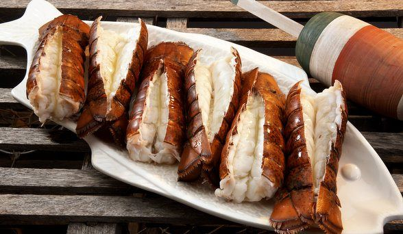 HOW TO COOK LOBSTER TAILS AT HOME [VIDEO] Find out how to cook lobster tails from Lobster Anywhere. See a couple of techniques for how to cook frozen lobster tails at home. Cold-water lobster tail are featured in the video. Frozen lobster tails are both baked and broiled.