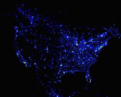 Best Weather Satellite Ideas On Pinterest Weather Gif Live - Satellite map of us at night