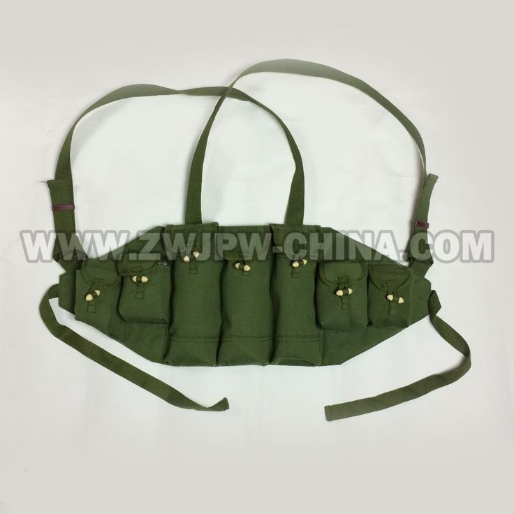 REPRODUCTION CHINESE VIETNAM WAR TYPE 56/AK -47 CHEST RIG AMMO POUCH BAG MAGAZINE POUCH  CN.AW/10123