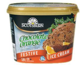 #scotsburn #icecream #festive #seasonal #holiday #chocolateorange