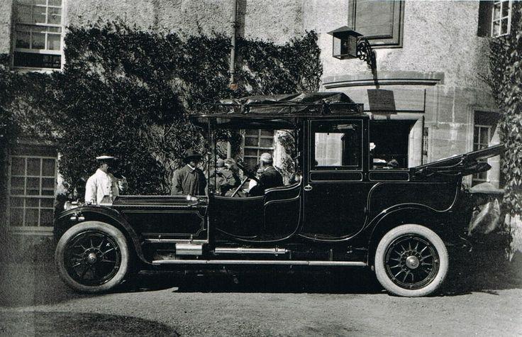 Percy & Bessie Molteno's Rolls Royce, pre - 1914