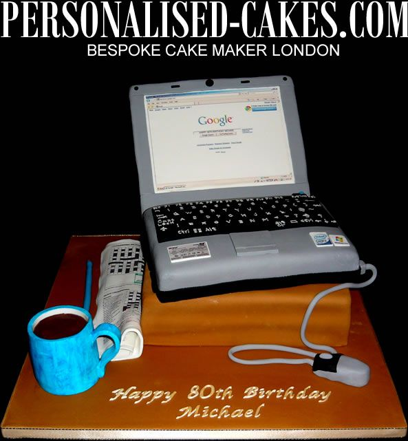 40 Best Computer Cake Images On Pinterest Computer Cake Food