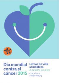 LLEVAR VIDAS SALUDABLES  Reducir los factores de riesgo sociales y medioambientales del cáncer y capacitar a las personas para que tomen decisiones saludables son dos componentes primordiales para conseguir el objetivo global de reducir en un 25% las muertes prematuras producidas por enfermedades no transmisibles (ENT) en 2025, y para lograr los objetivos de la Declaración Mundial sobre el Cáncer.  http://www.worldcancerday.org/sites/wcd/files/atoms/files/WCD2015_ES1_HealthyLives_FA_ES.pdf