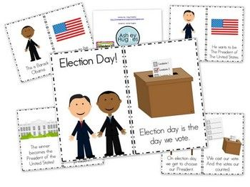 Election Day Emergent Reader! - Kindergarten Smorgasboard - TeachersPayTeachers.com