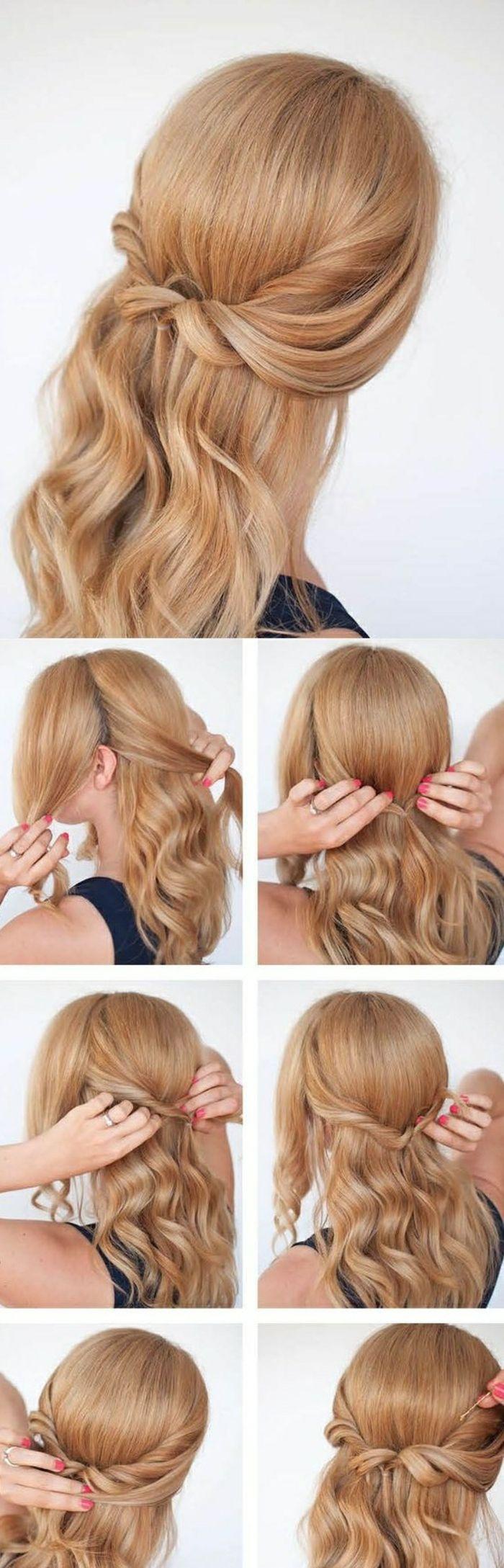 Die 25 besten ideen zu haarfrisuren selber machen auf pinterest